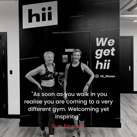 Review of Hii Fitness by Sue Fawcett